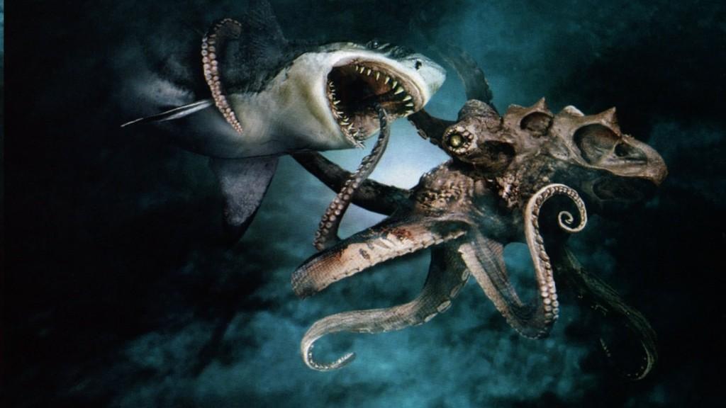 Mad Films - Mega Shark vs. Giant Octopus screen shot
