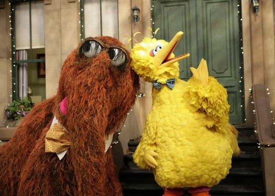 Mr Snuffleupagus - Aloysius and Big Bird 2
