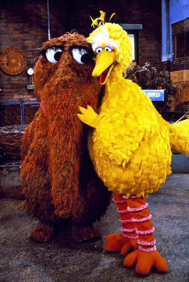 Mr Snuffleupagus - Aloysius and Big Bird