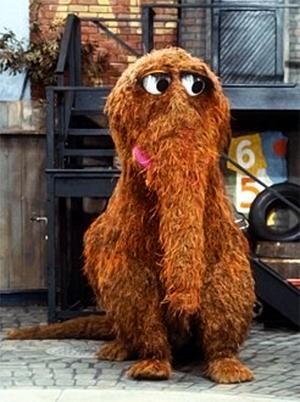 Mr Snuffleupagus - snuffy