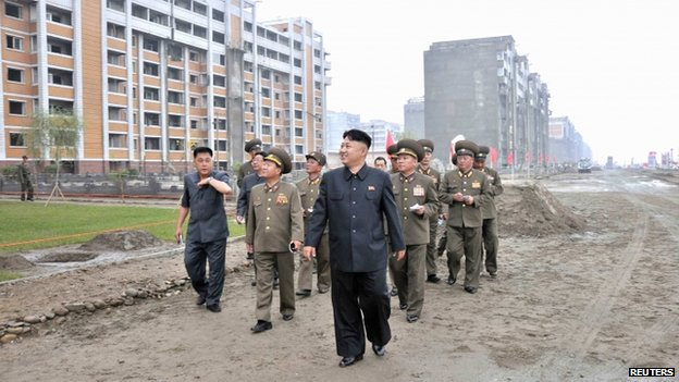 North Korean Construction Industry Is Screwed Lazer Horse