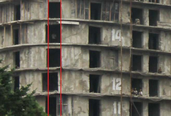 North Korea - Construction accident - Windows Misaligned