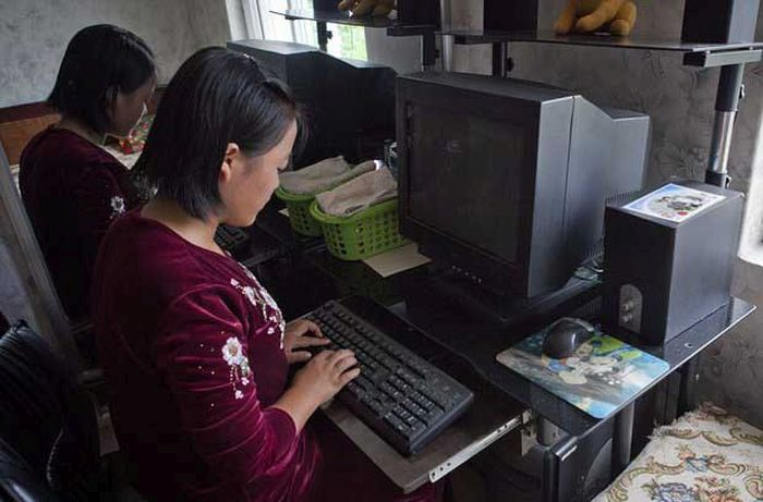 North Korea Rare Deleted Photos - broken pc