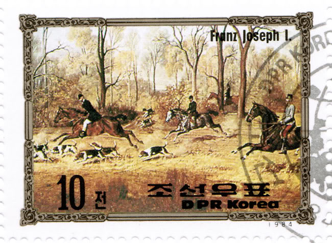 North Korean Stamps - Europe Success - Franz Joesf I