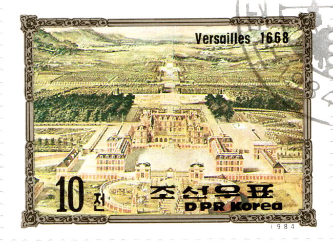 North Korean Stamps - Europe Success - Versaille