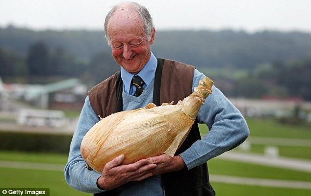 Onion History Science - Biggest Onion In The World - Peter Glazebrook