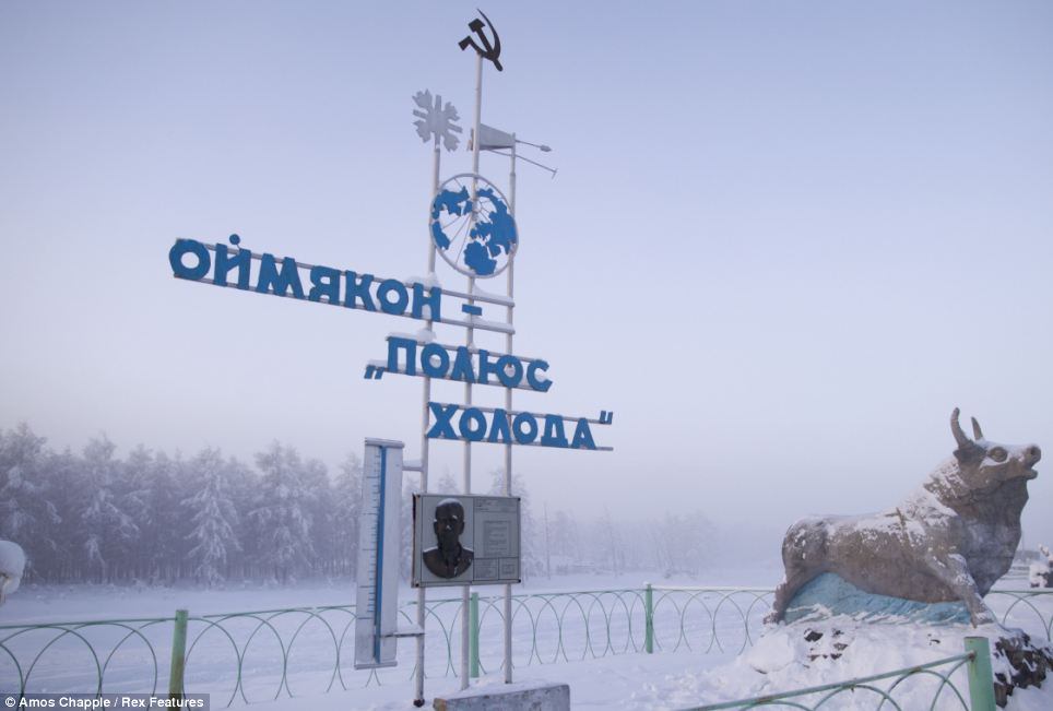 Oymyakon - coldest village town - Pole of Cold
