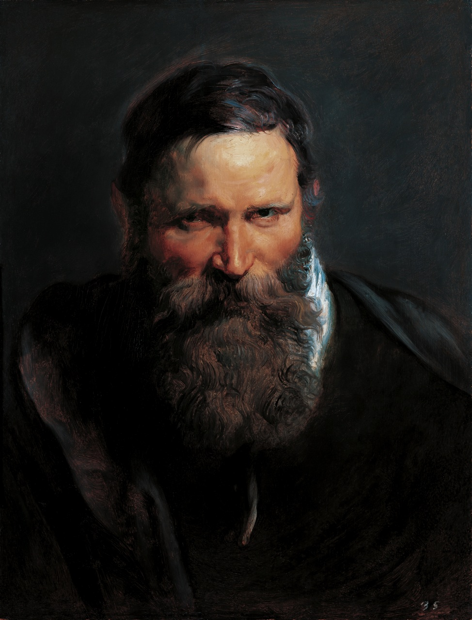Painting Men With Beards - Peter Paul Rubens