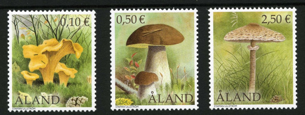 Strange Stamps - Fungus - Aland Islands