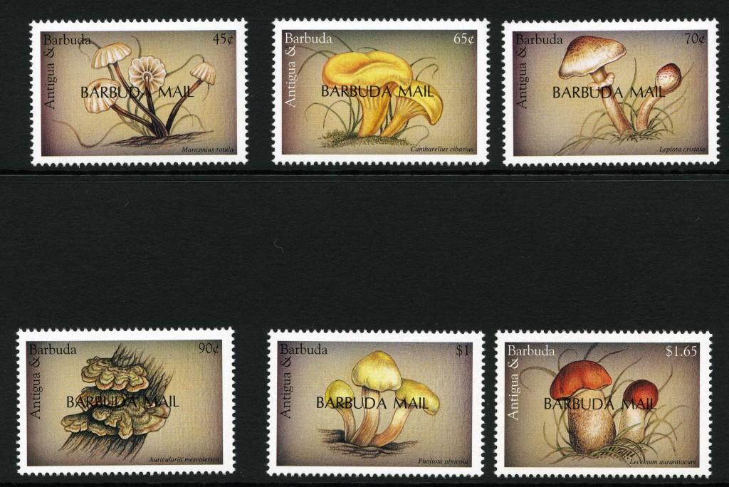 Strange Stamps - Fungus - Antigua 2
