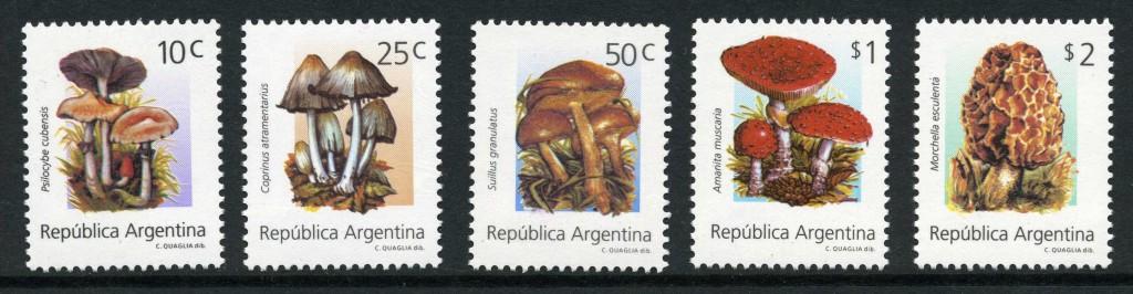Strange Stamps - Fungus - Argentina