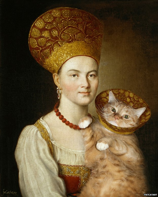 Svetlana Petrova Zarathustra - Cat Paintings Ivan Argunov