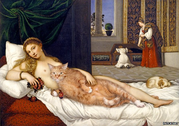 Svetlana Petrova Zarathustra - Cat Paintings Venus