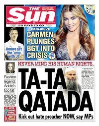 The Sun - Stupid Headlines - TA TA QATADA