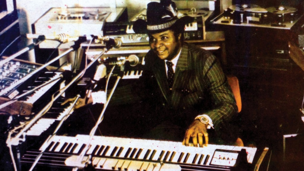 William Onyeabor - cowboy hat and synth