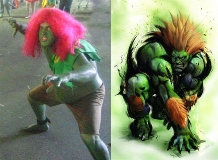 Worst Cosplay - Street Fighter