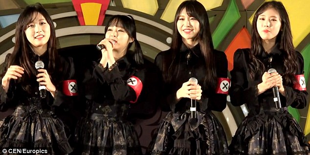 sOUTH kOREAN nAZI cHIC - pritz