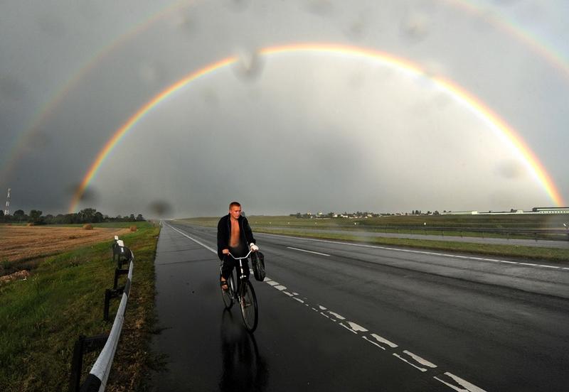 Belarus Village Life - Rainbow 2