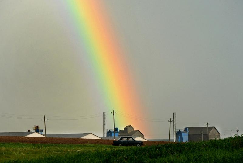 Belarus Village Life - Rainbow