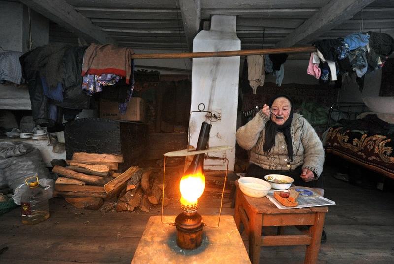 Belarus Village Life - Simple home