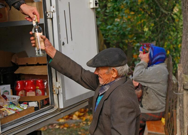 Belarus Village Life - Vodka