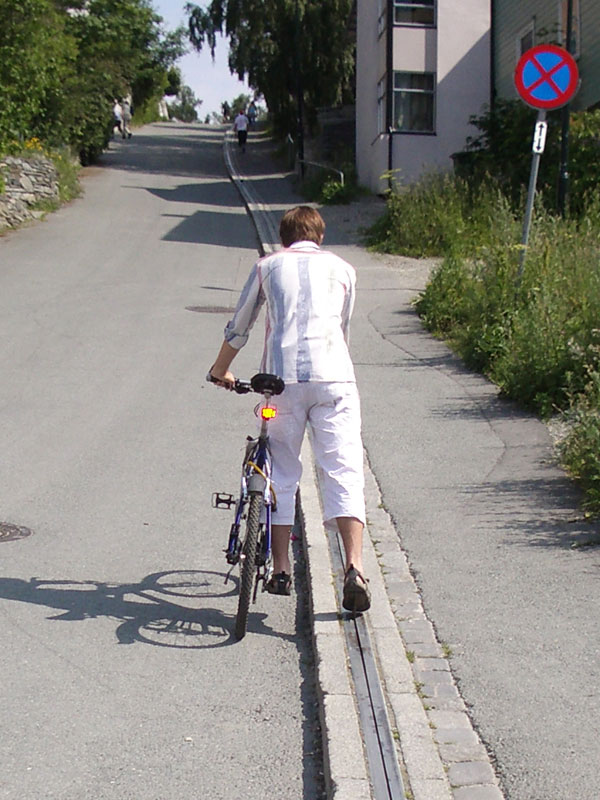 Bicycle Lift - Trampe - CycloCable - norway