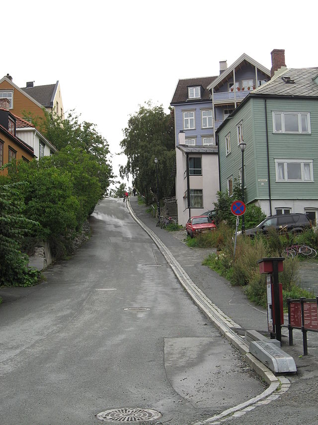 Bicycle Lift - Trampe - CycloCable - trondheim norway