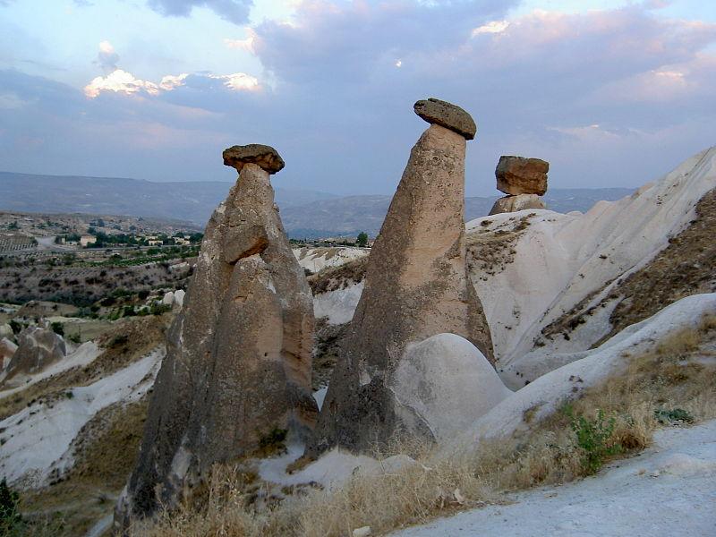 Cappadocia - Turkey Rock Formations - Fairy Chimneys