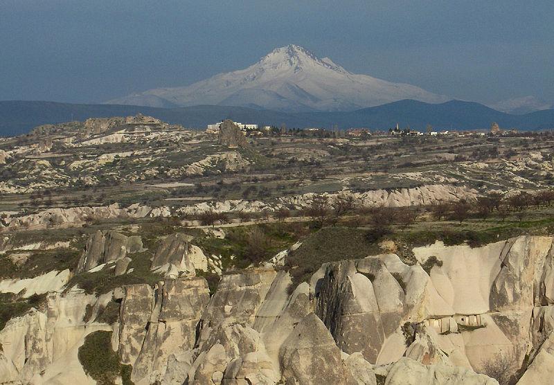 Cappadocia - Turkey Rock Formations - Mt. Erciyes