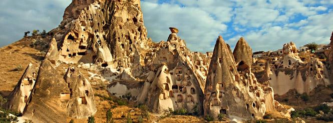 Cappadocia - Turkey Rock Formations - homes 2
