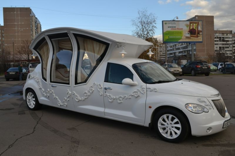 Car Weird Russian Wedding Cruiser - modified