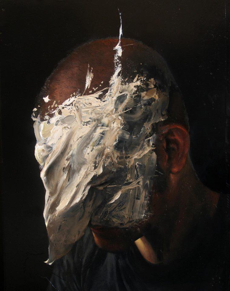 Dario Puggioni - Dark Art - ruined face