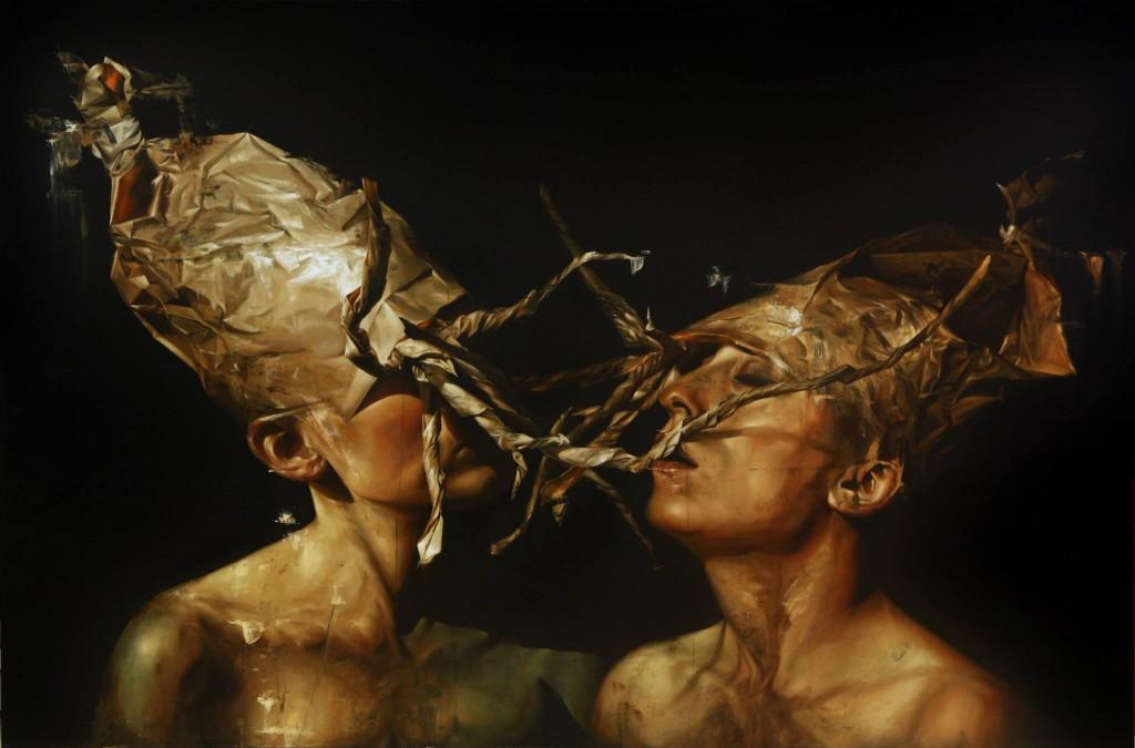 Dario Puggioni - Dark Art - two women