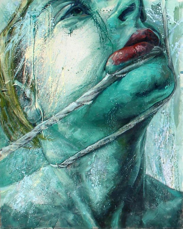 Dario Puggioni - Layered Art blue phase