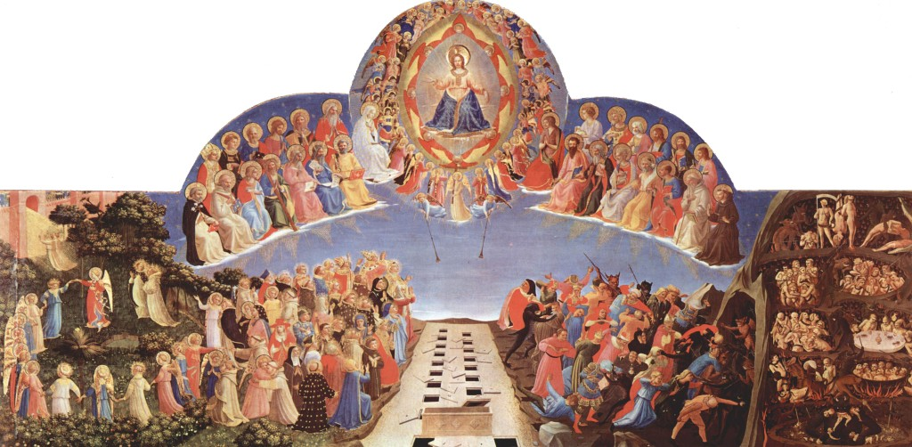 Doom Paintings Medieval - Last Judgement - Fra Angelico 1300s