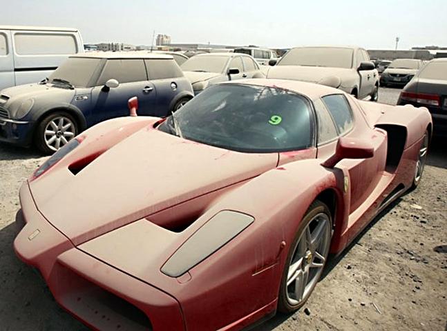 Dubai - Abandoned Luxury Cars 1
