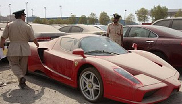 Dubai - Abandoned Luxury Cars 3