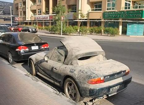 Dubai - Abandoned Luxury Cars 4
