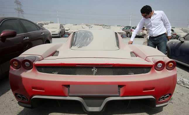 Dubai - Abandoned Luxury Cars 5