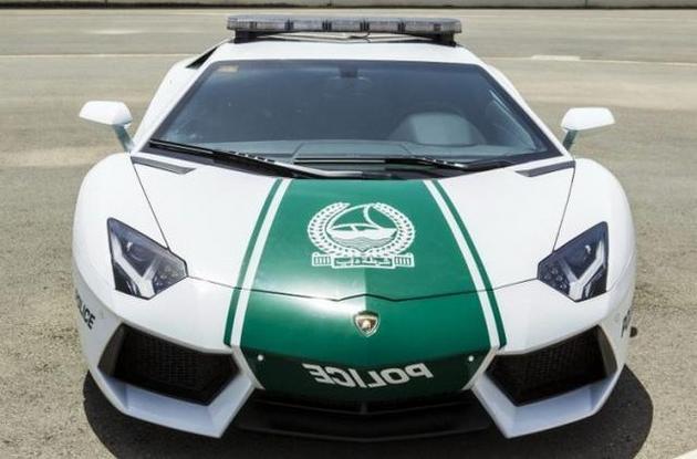 Dubai Madness - Lamborghini  police car
