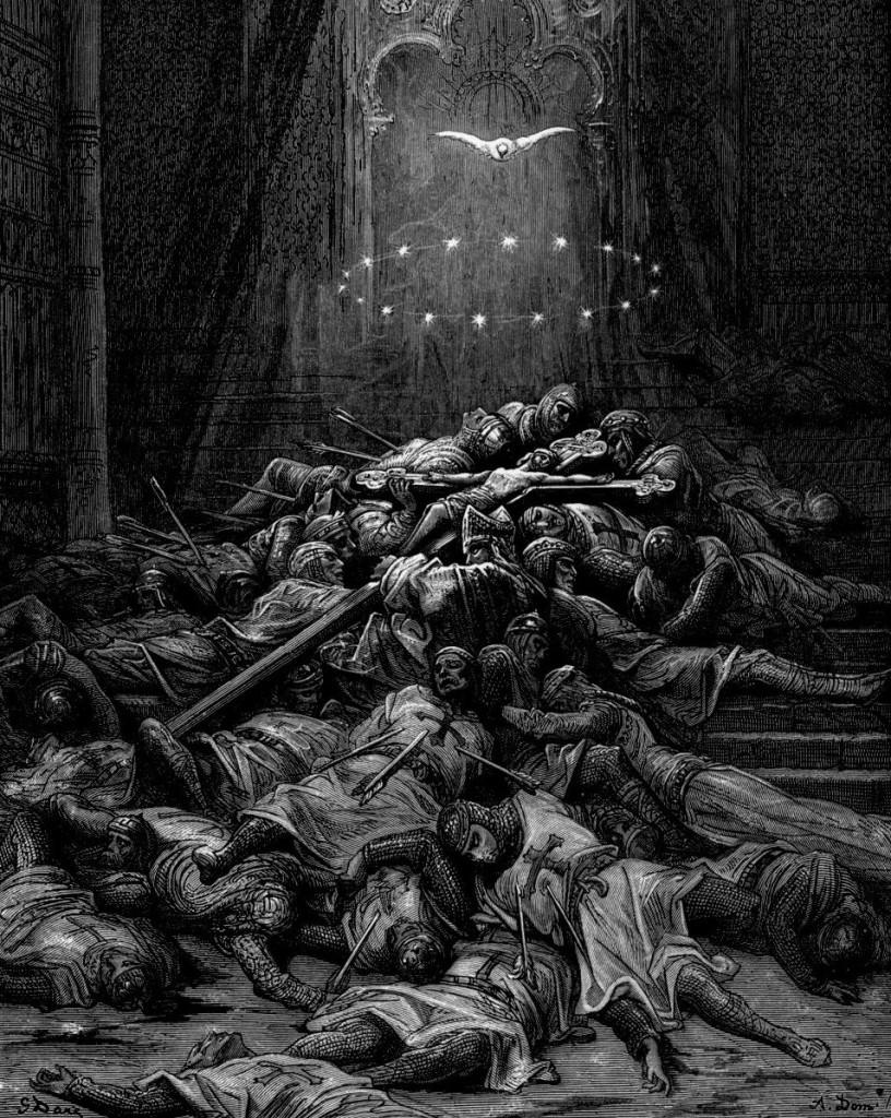 Gustave Dore - Crusades Celestial Light