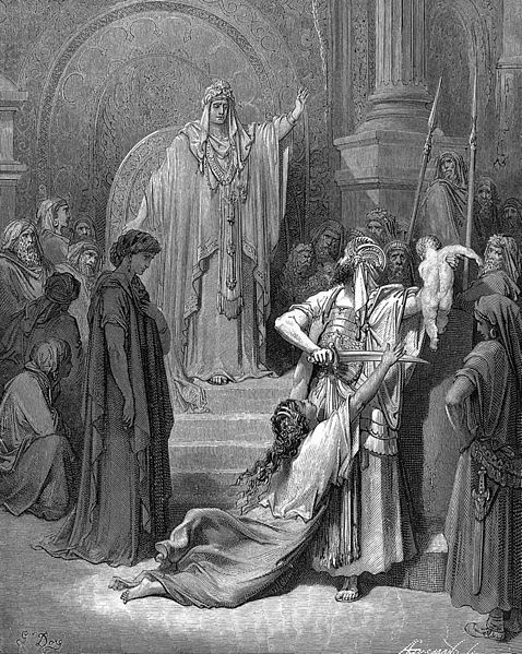 Gustave Dore - Judgement of Solomon