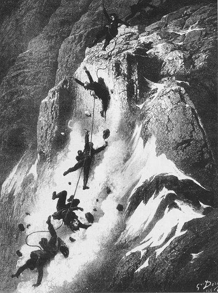Gustave Dore - Matterhorn disaster