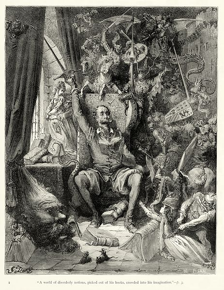 Gustave Dore - Miguel de Cervantes - Don Quixote