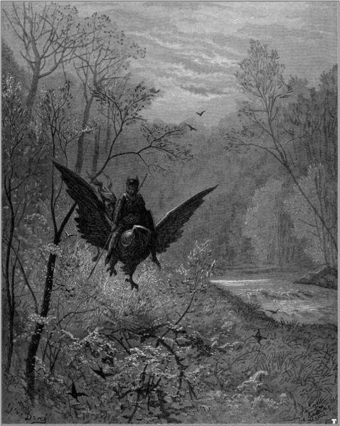 Gustave Dore - Orlando Furioso 2