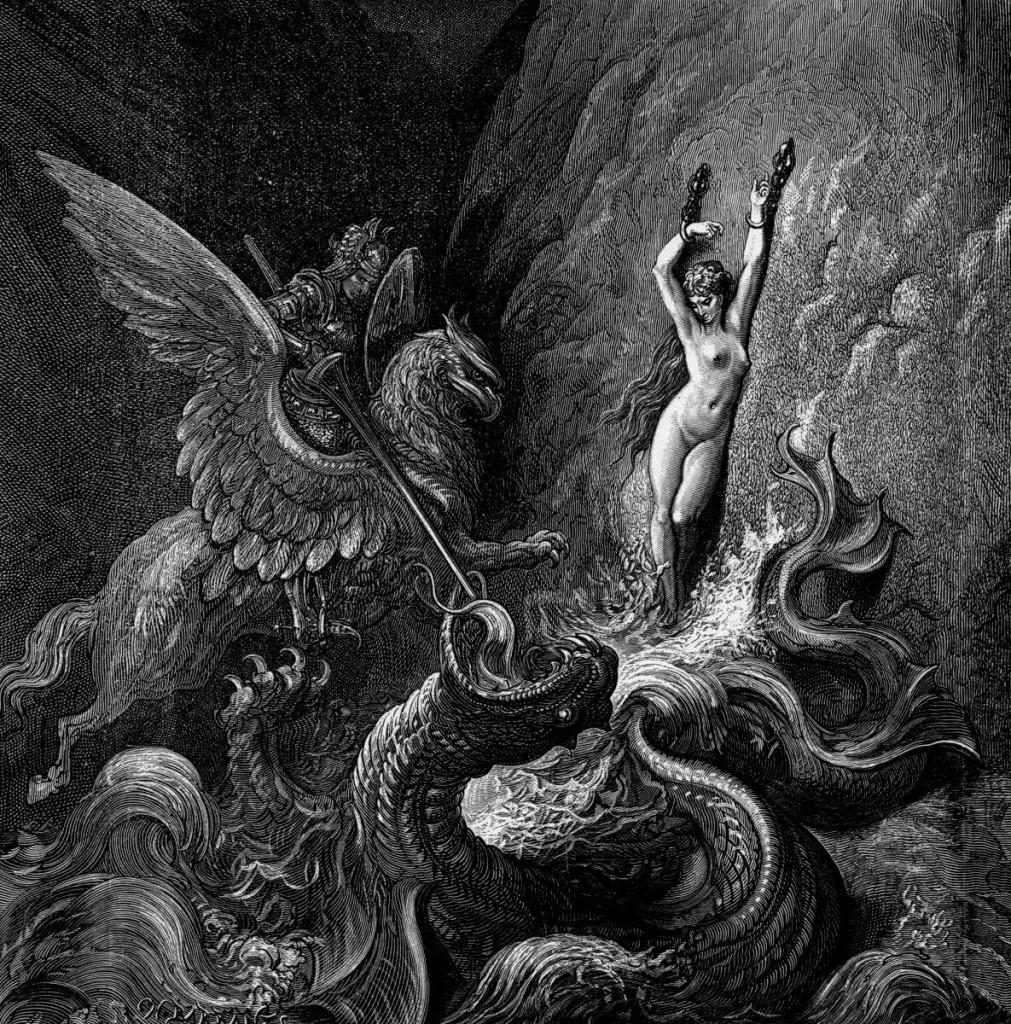 Gustave Dore - Orlando Furioso 3