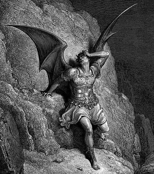 Gustave Dore - Paradise Lost Satan