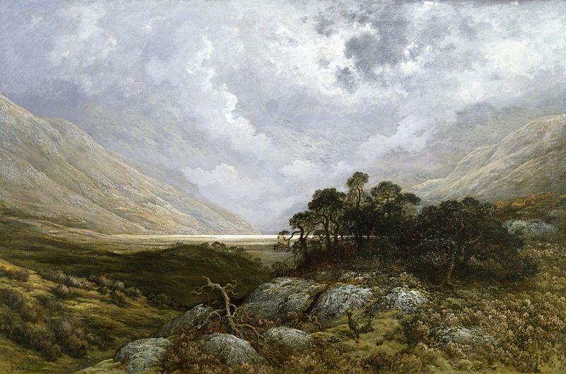 Gustave Dore - Scotland Landscape