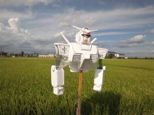 Japanese Scarecrow - gundam