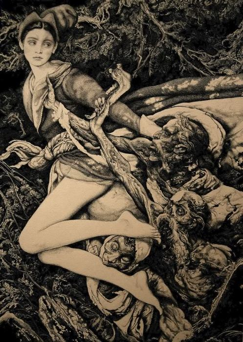 Macabre and Beautifully Grotesque - Vania Zouravliov